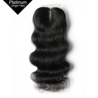 Wholesale Excellent Qulaity Free Parting 4*4 10 Inch Virgin Human Body Wave Brazilian Hair Closure