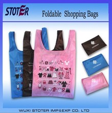 2014 hot sale eco friendly cheap bulk folded shopping bag