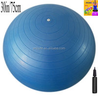 Anti-burst gym ball with different size