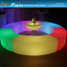 super brightness led bar chair & bar and lounge furniture for events and club, color changeable LED bar furniture