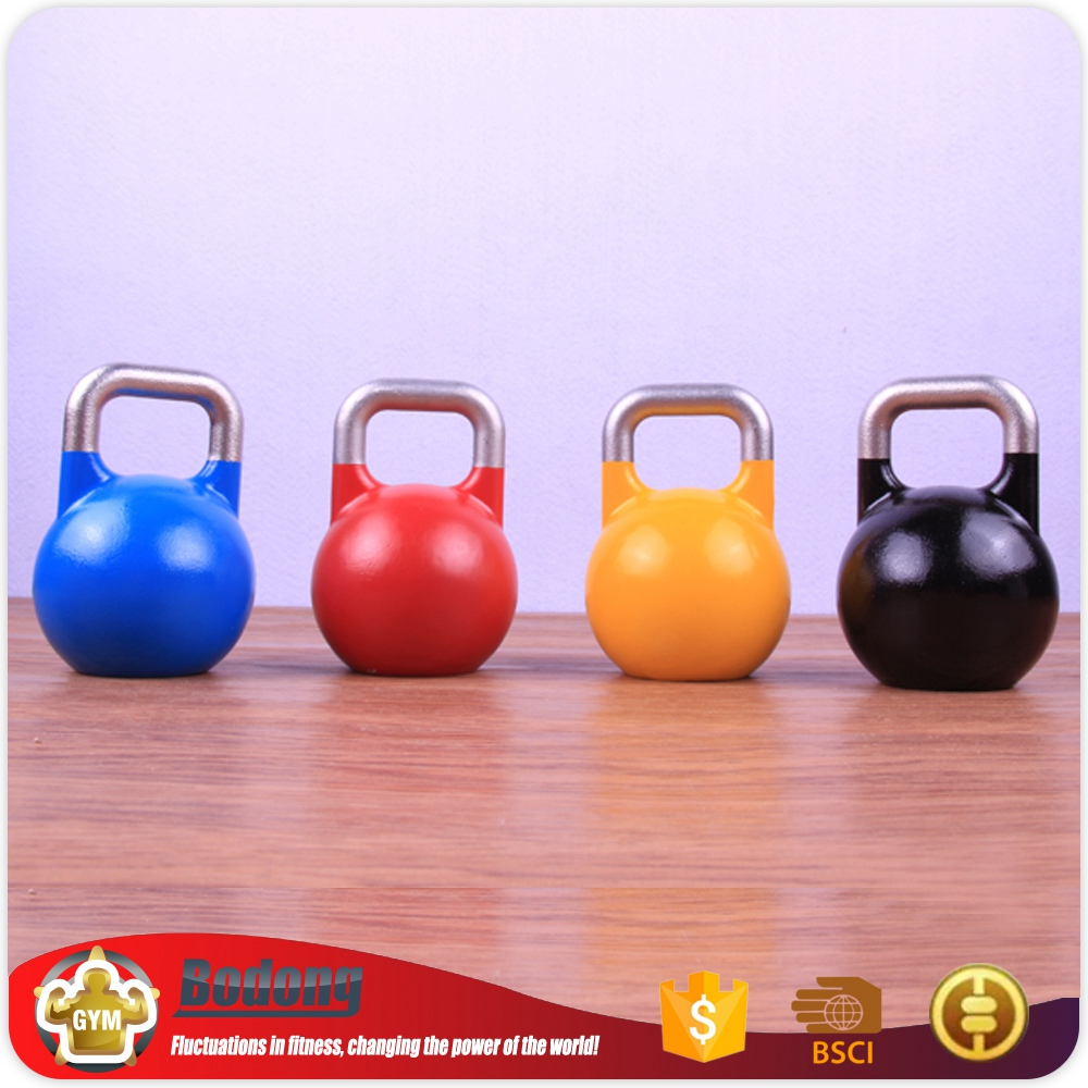 Wholesale china weight lifting kettle bell dumbbell set gym equipment