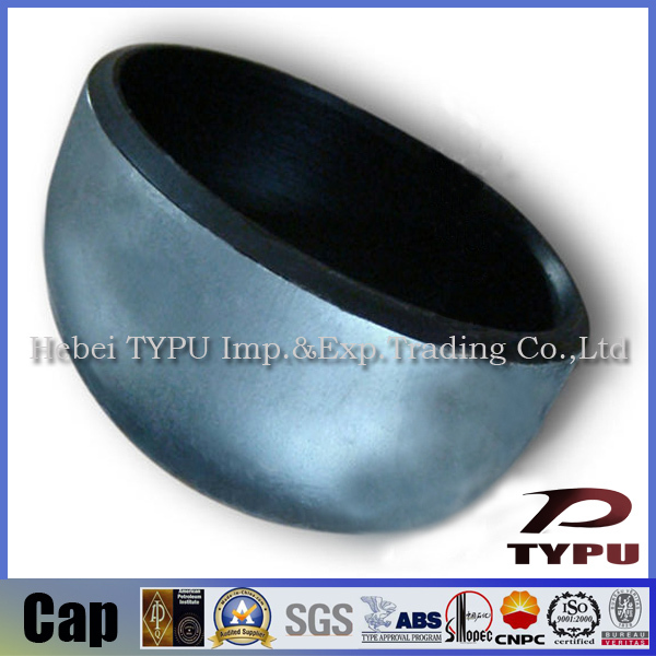 DN100 304ss DIN2617 stainless steel pipe cap Made in China Factory