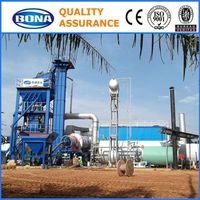 Asphalt in Construction 100t/h Stationary Bitumen Mixing Plant For Sale