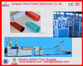 PVC suction water drainage hose pipe extrusion line soft flexible hose pipe production line