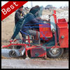 Double row tractor ground beans or potato seeder machine