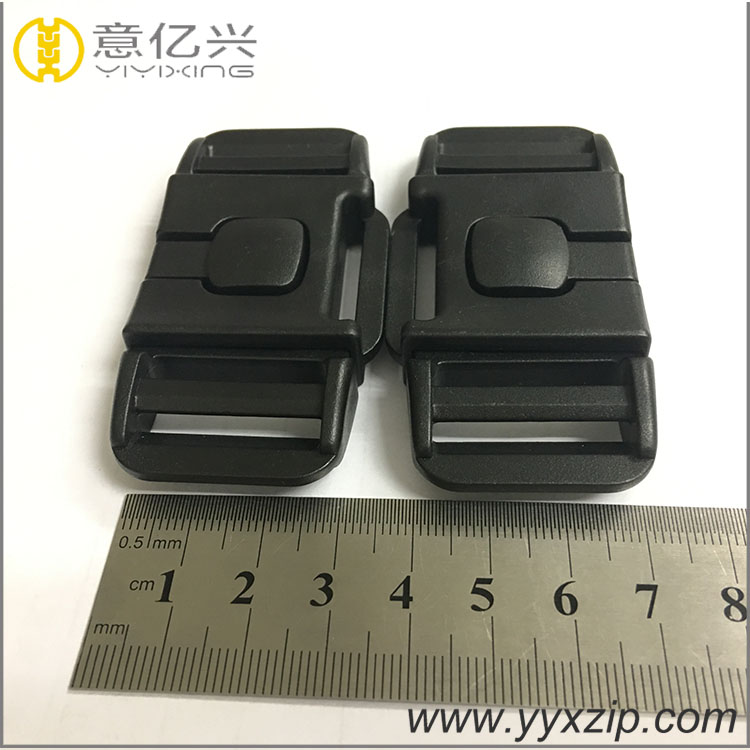 OEM customized plastic insert safety buckle for 3 point baby car seat belt buckle