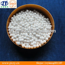 activated alumina ball,used as absorbent desiccant and catalyst carrier.Vacuum systems