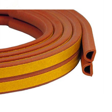 High density low price car door weather D/P/E/I shape self-adhesive rubber seal strip for auto/car/bus/cabinet