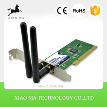 2.4GHz 802.11b/g/n Wireless LAN N 300Mbps PCI Express Adapter(wireless network card,PCIE card) XMR-WK-1