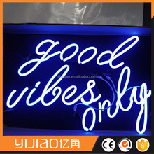 Factory luminous neon sign logo