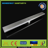HOT SALES FOR parking lot grate pool drain grate/stainless steel floor drain grate/polymer concrete drainage channel BRUSHED