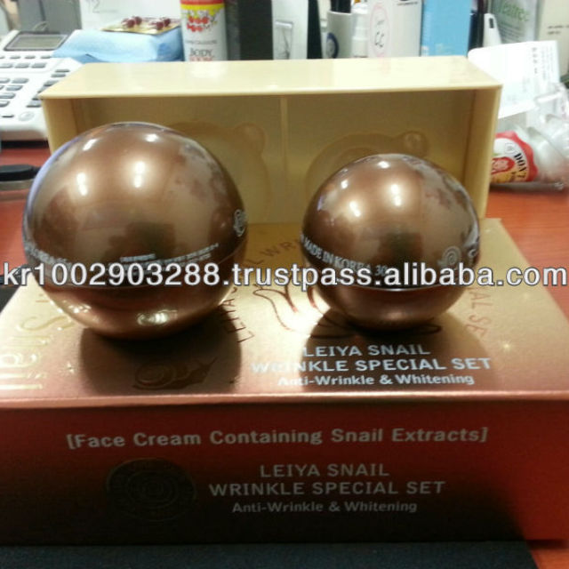 Korea snail cream set/Korea/OEM/ODM/R&D