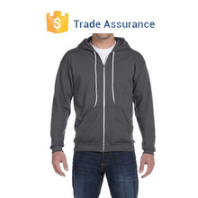 Wholesale Men's Full-zip Hooded Sweatshirt