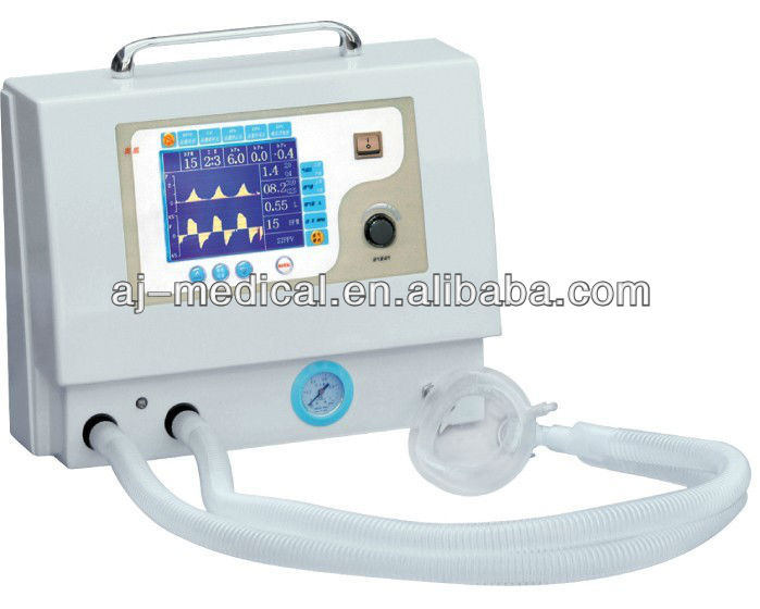 The cheapest price elaborately and beautifully designed Portable Ventilator for Ambulance or Personal Emergency