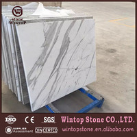 MCT0133 Pre cut white turkish lower price marble stone tile for pub hot sale in Russian Federation