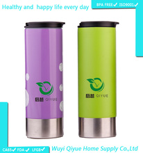 novelties goods from China BPA free clear double wall gift items thermo mug