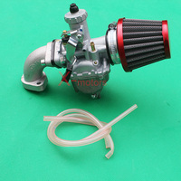 Performance VM22 MIKUNI Carburetor Air Filter intake For 110cc 125cc CRF SSR Sunl Taotao Pit bike