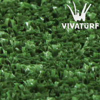 VIVATURF C10151 12mm artificial turf for cricket field court pitch