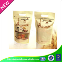 food grade custom PE composite plastic snack packaging bags