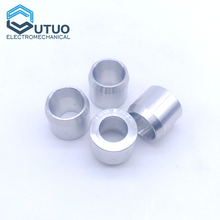 Cnc Machining Services Precision Aluminum OEM Carbon Steel Sleeve Flange Bushing