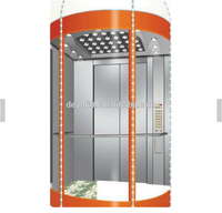 800kg Commercial Panoramic Glass Elevator