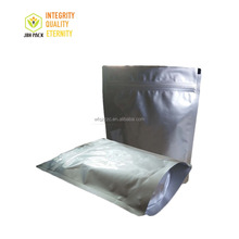custom aluminum foil food stand up plastic zipper bag wholesale with printing