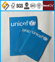 Hot item school supply Royal College unicef copy book