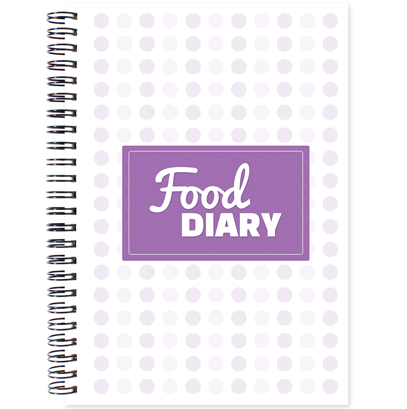 Food Diary Meal Planner with Wire-O binding
