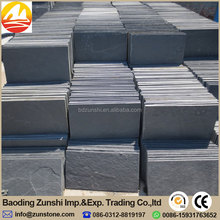 Machine Cut Edge Natural Slate, Black Slate Slabs For Sale