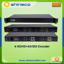 Radio & TV Broadcasting Equipment H.264 HD MI Encoder H.264 to Ethernet