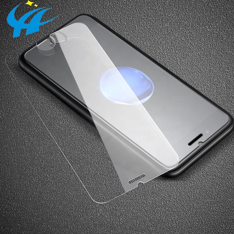 with installation tool 2.5d 9h phone accessories tempered glass film for iphone 6 7 8 plus x 256gb xs max screen protector