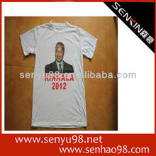cheap election campaign wholesale 100% OEM printed cotton t-shirt for men