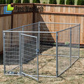 galvanized pet cages / crates / houses for dog