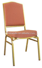 stackable hotel chair steel/aluminium banquet chair