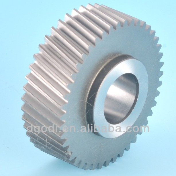 small steel helical gear for motorcycle transmission
