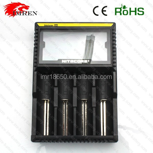 factory price for Hot sale original nitecore d4 general liion rechargeable battery charger