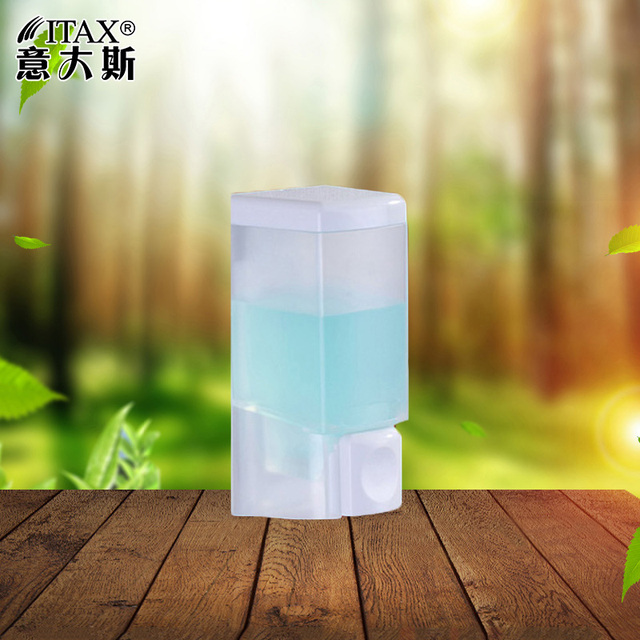 260ml X-2202W Bathroom shower Manual soap dispenser wall mounted ABS plastic shampoo lotion body hair washer holder home hotel