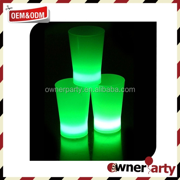Hot Sell New Style Glow Plastic Cups