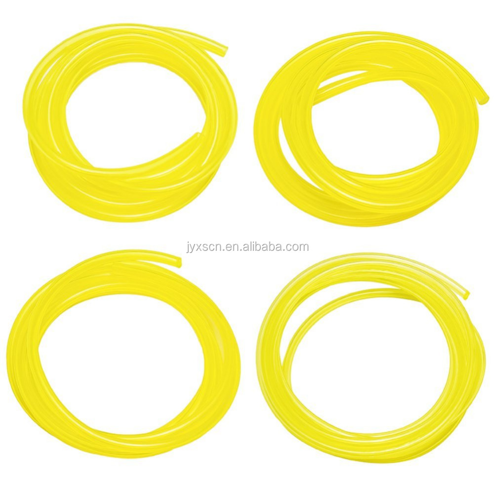 Petrol Fuel Line Hose Lubricant Tubing with 4 Different Size for Weedeater Chainsaw and Common 2 Cycle Small Engines