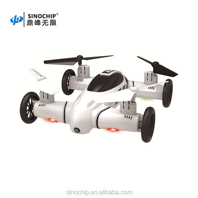 New Design Professional Air/land Modes Quadcopter with HD camare and WiFi for Kids RC Toy Drone