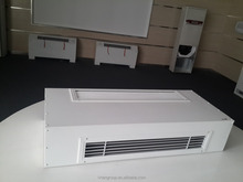 Air conditioner indoor unit.High efficiency terminal equipment chilled water wall mounted Fan Coil Unit.