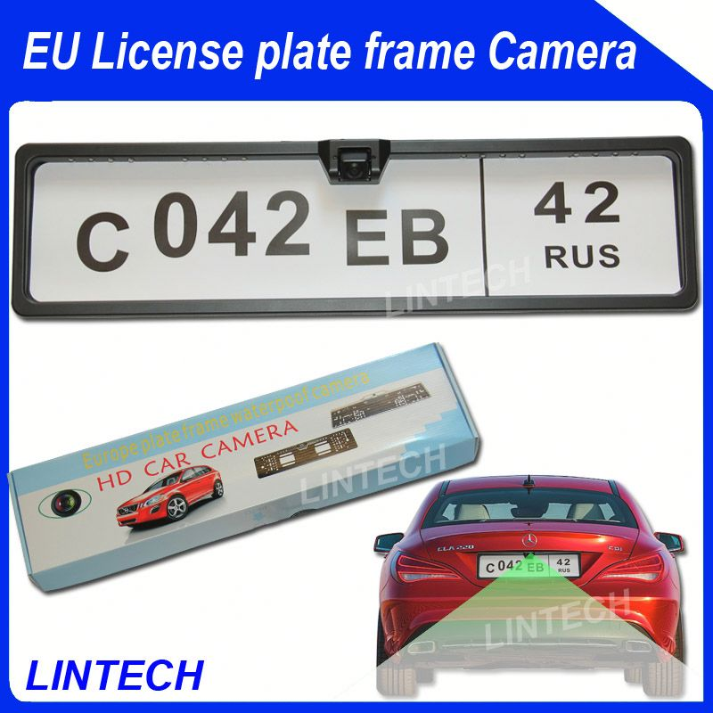 2014 Europe Cars Number plate parking sensor for opel astra
