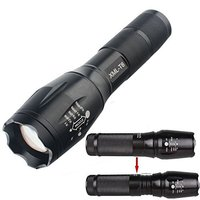 Led Rechargeable Torch, Zoom 500 Lumen Tactical Led Flashlight Quality Assured Most Popular