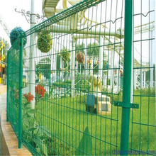 Home and garden double wire mesh fence