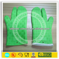 heat resistant silicone kitchen oven gloves