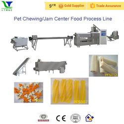 Professional Automatic Dog Preats Machine/Pet Chews Treat Processing Line