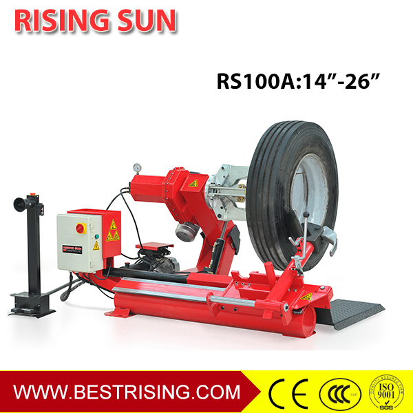 Truck tire repair tyre disassemble machine
