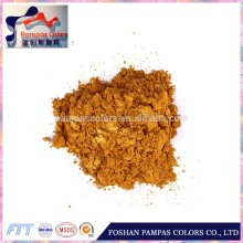 Co-Cr-Al-Zn inorganic gold pearl pigment powder