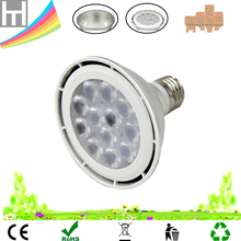 277V 120V 230V 1000lm Ra80 PF0.9 Par30 dimmable led light lamp bulb E27 12w short neck ce rohs led par30 spotlights