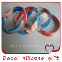 High quality new design color changing silicone bracelet temperature